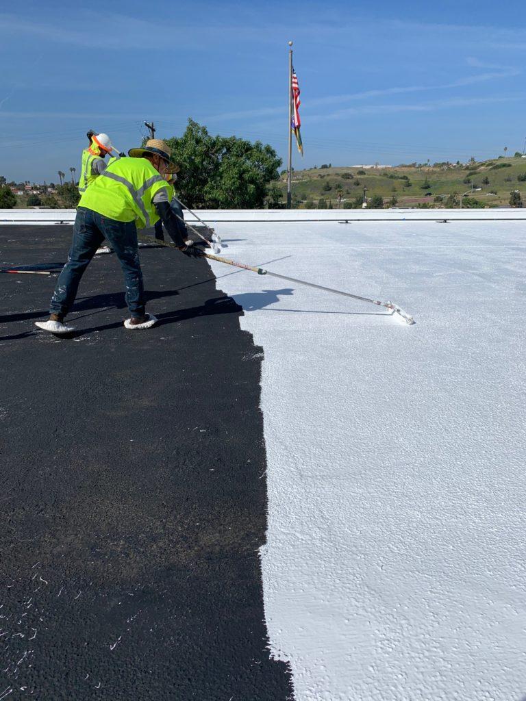 Silicone Roof Restoration