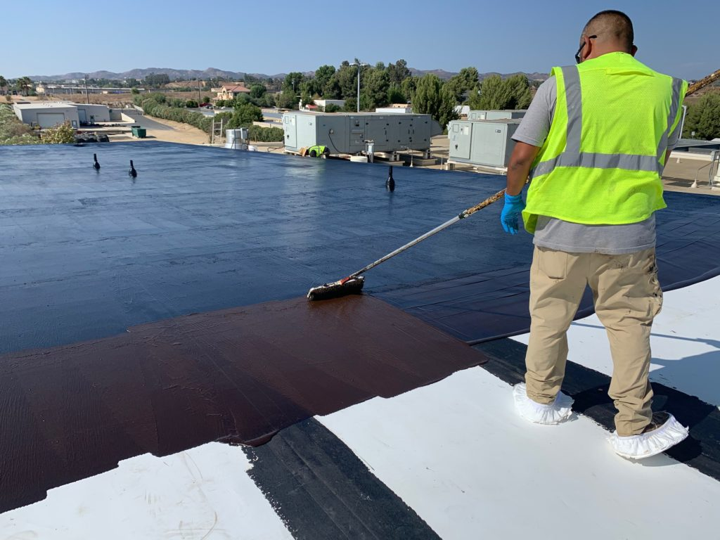 commercial roof restoration is up to three times faster than a roof replacement
