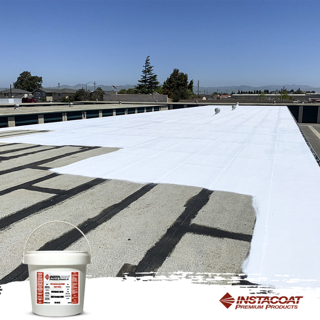 Silicone Roof Restoration is Applying Generally in a Single Coat.