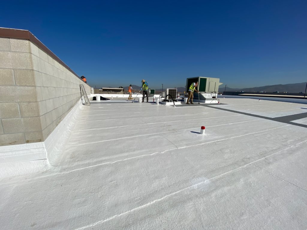Silicone Roof Restoration System