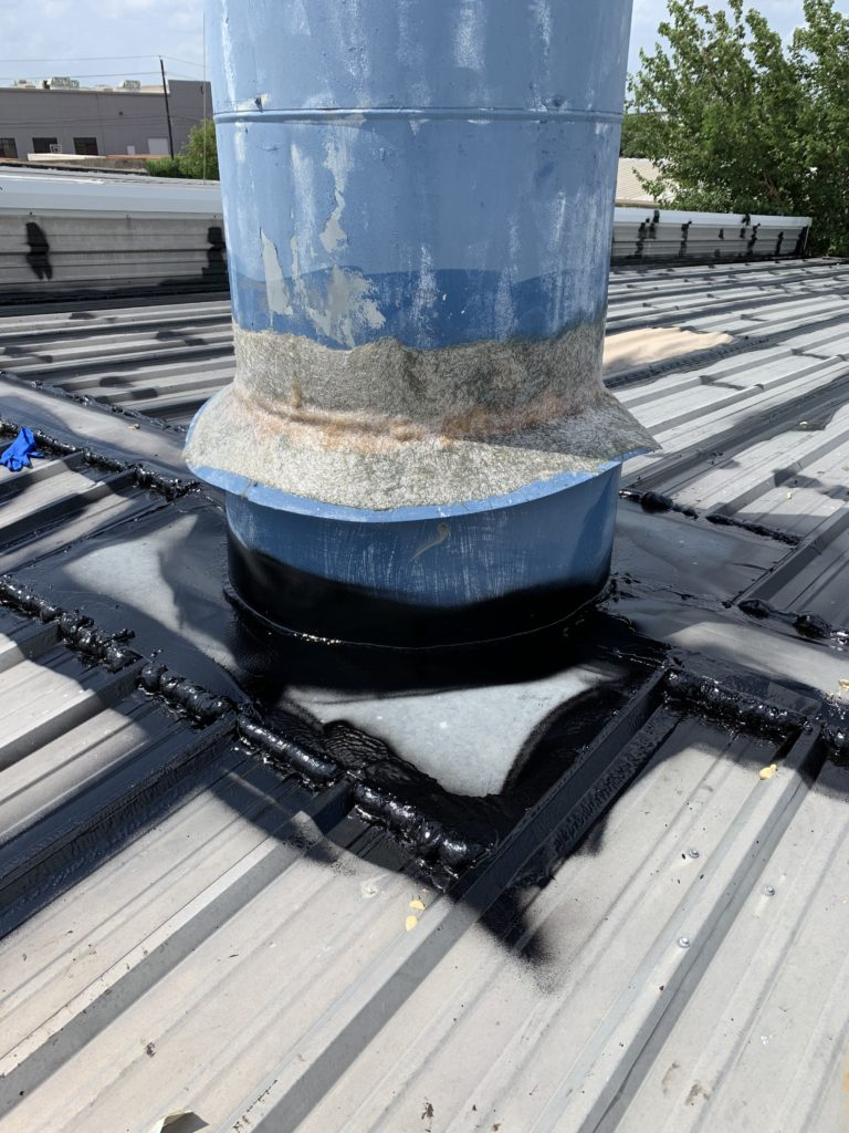 When installing a new roof or restoring an old one, it is essential to ensure sealing all the top roof penetrations.