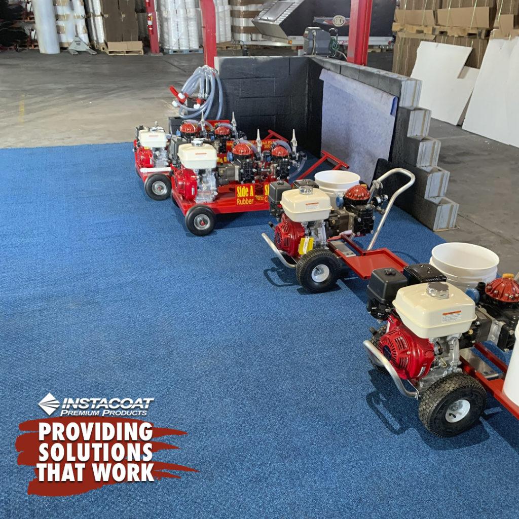 Spray Equipment for Roof Restoration