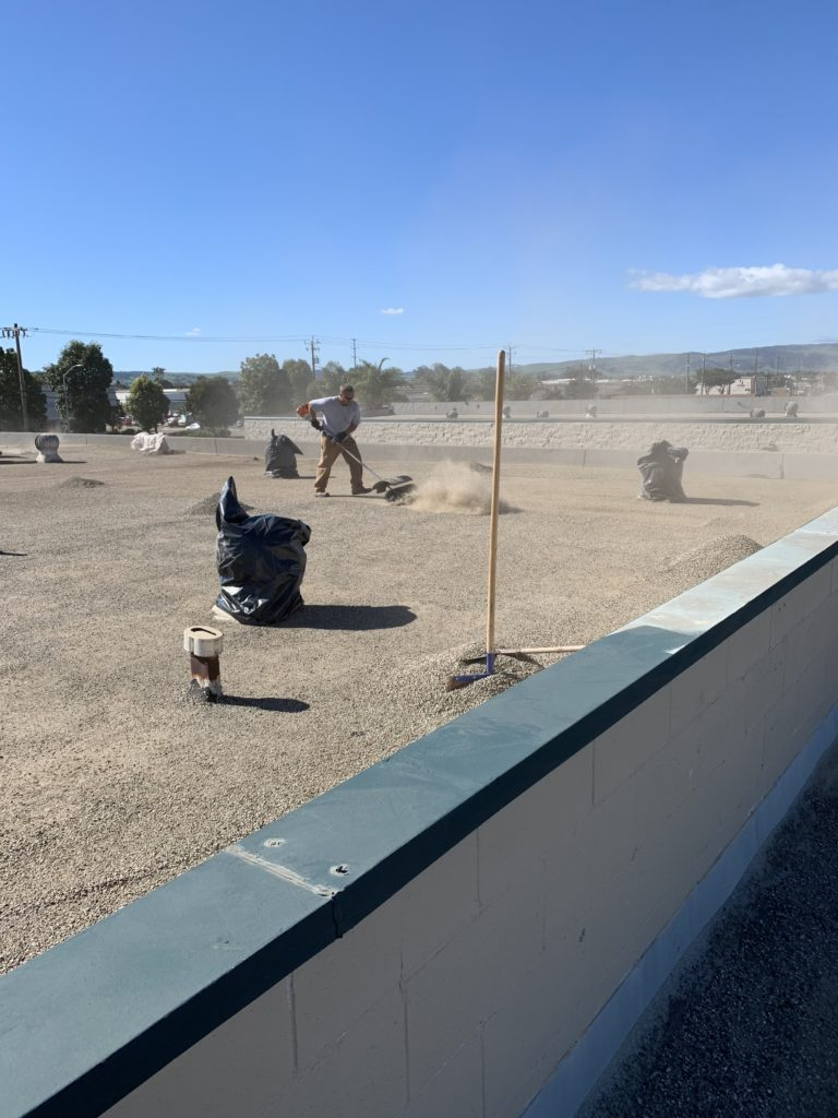 Tar and Gravel Roof Restoration